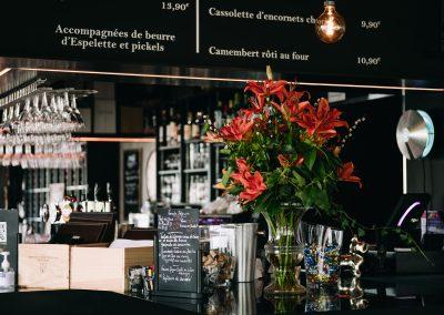 bistrot clos montesquieu - photo du bar