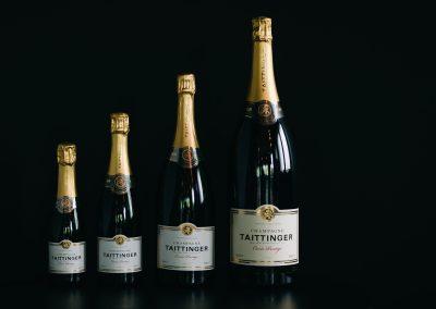 bistrot clos montesquieu - photo de vin 'champagne taittinger'
