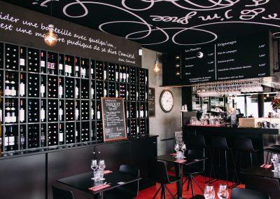 bistrot clos montesquieu - photo de la cave des vins
